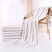 100 Genuine Long Staple Cotton Beach Towel 70x140cm Soft Bath Towel Wrap For Kids Quick Dry