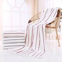100 Genuine Long Staple Cotton Beach Towel 70x140cm Soft Bath Towel Wrap For Kids Quick Dry