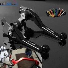 For Honda CRM250AR CRM 250AR CRM 250 AR 1994 1995 1996 1997 1998 Dirt Bike Motorcycle Pivot Brake Clutch Levers Handle Bar Grips