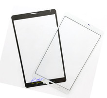1pcs with logo For Samsung Galaxy Tab S 8.4 LTE SM-T705 T705 Front Glass Outer Lens Touch Panel  Free Shipping+Track Code