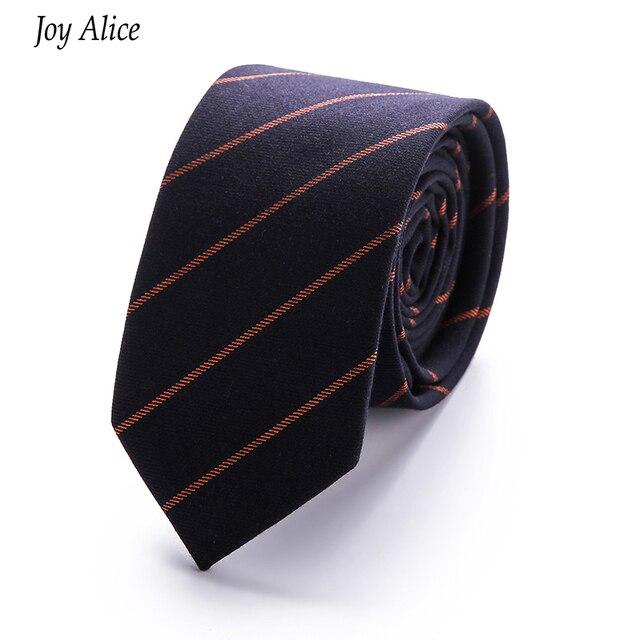 prestazioni superiori vendita calda online taglia 7 US $3.98 10% di SCONTO|2018 di Marca sottile cravatta 6 cm cotone cravatte  per Gli Uomini di nozze di moda a strisce gravata Slim tie cravatta da uomo  ...