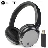 New Rechargeable Multifunction 2 4G Wireless Headset Hi Fi Stereo TV Headphones With Mic For TV