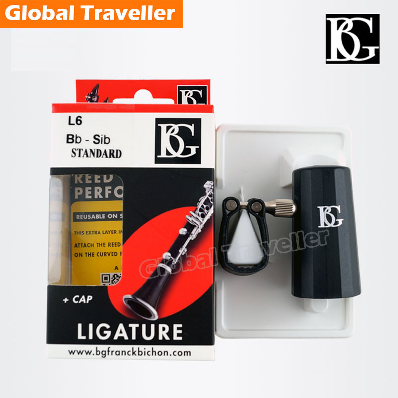 1 piece France original BG L6 Flex Bb Clarinet Mouthpiece Ligature Clip hammer akm920