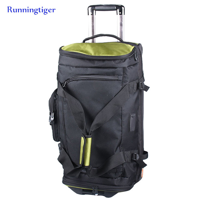 """Large-capacity suitcase, rolling luggage Oxford bag, women's trolley case men's 27"""" 30"""" inch box backpack trolley case waterprof"""
