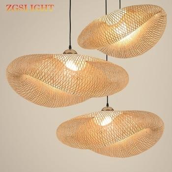 Luminaires de cuisine en bambou 1