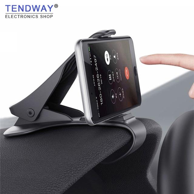 Tendway uchwyt samochodowy do telefonu uchwyt do pulpitu uniwersalny uchwyt do telefonu komórkowego uchwyt gps stojak na telefon komórkowy do telefonu w samochodzie