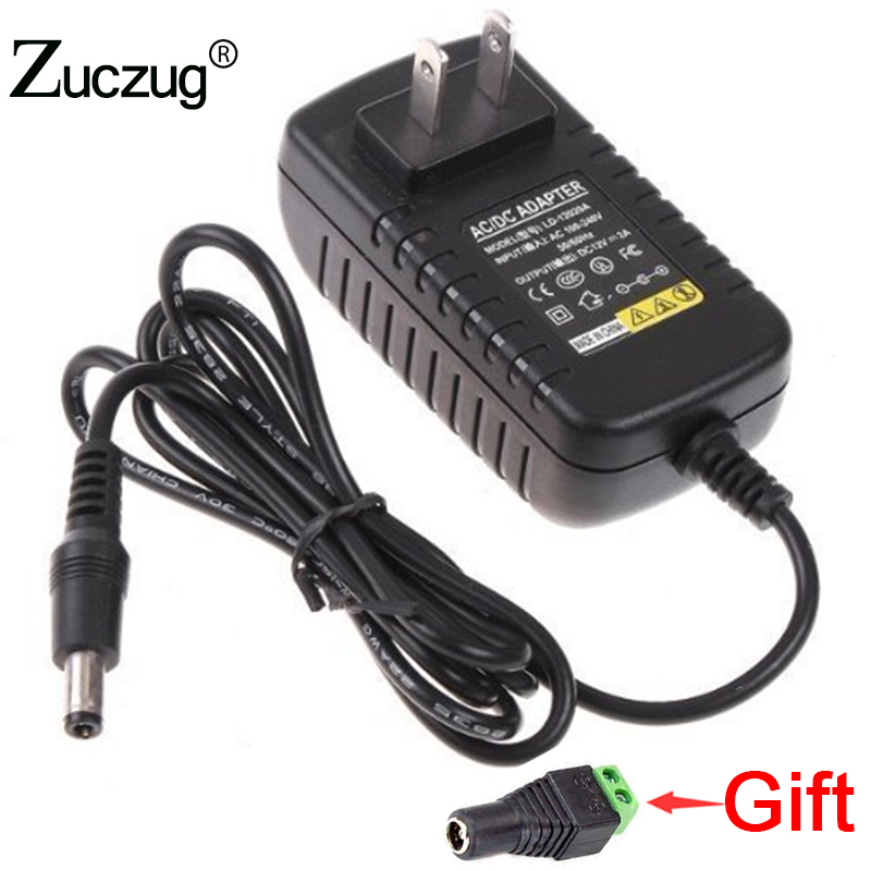 Power Adapter 12V 3A EU/US Plug led driver Converter Transformer regulated Power Supply AC to DC 12 V Charger For LED Strip peavey 15 v ac power supply euro plug