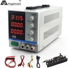 Alimentation électrique DC PS-3010DF, 30V, 10a, pour laboratoire, avec écran 4 bits, chargeur USB réglable, interrupteur de réparation