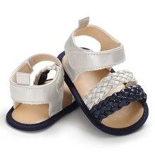 Детские сандалии, обувь милые летние пляжные сандалии для маленьких мальчиков девочек Обувь с нескользящей мягкой подошвой для девочек и мальчиков сандалии