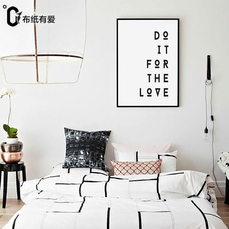 Do it for the love quote prints motivational poster wall printing home decoration pictures wall printing