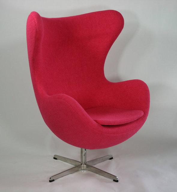 Eggshell Lazy Chair Armchair Chair Recliners Upscale Cafe Chair Club Chair  Fiberglass Wool