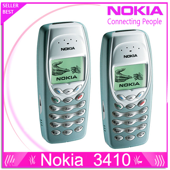 Refurbished NOKIA 3410 Mobile Cell