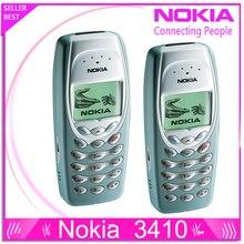 Refurbished NOKIA 3410 Mobile Cell Phone Original Unlocked Refurbished Cheap Phone