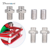 Deemount 10PCS/Lot Bicycle Pedal Bolts Anti skid M4 Steel Stud Pin Nail for Cycle Pedals Mount Bike Parts|Bicycle Pedal| |  -