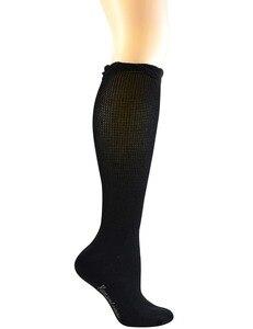 Image 2 - 4 пары, Женские бамбуковые носки до колена с бесшовным носком