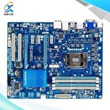 For Gigabyte GA-H77-D3H Original Used Desktop Motherboard H77-D3H For Intel H77 LGA 1155 For i3 i5 i7 DDR3 32G SATA3 USB3.0 ATX