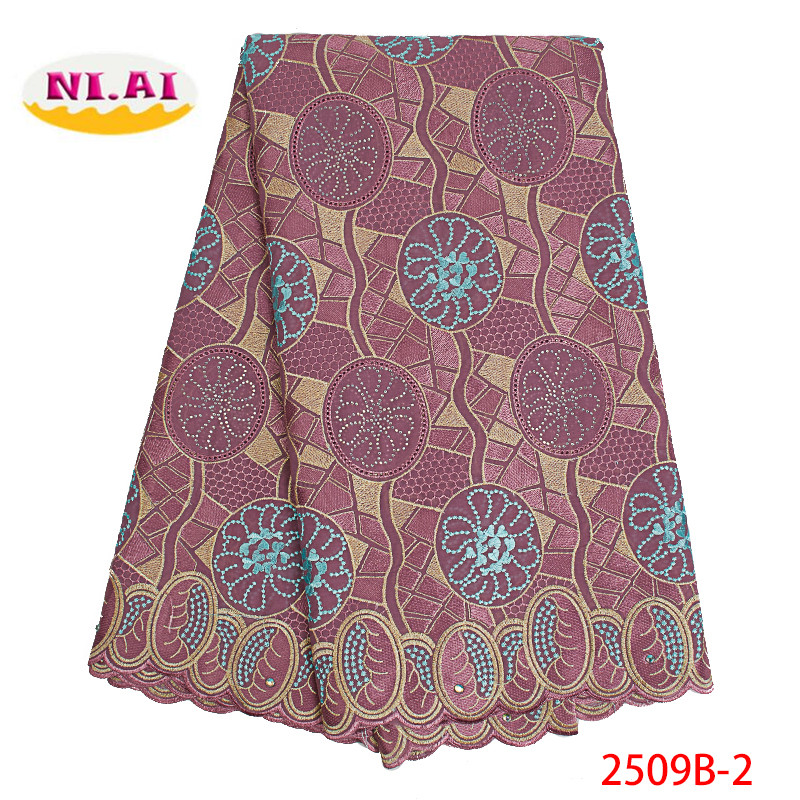 Nigerian Lace Fabric Swiss Voile Lace In Switzerland 2019 High Quality African Cotton Voile Lace Fabric