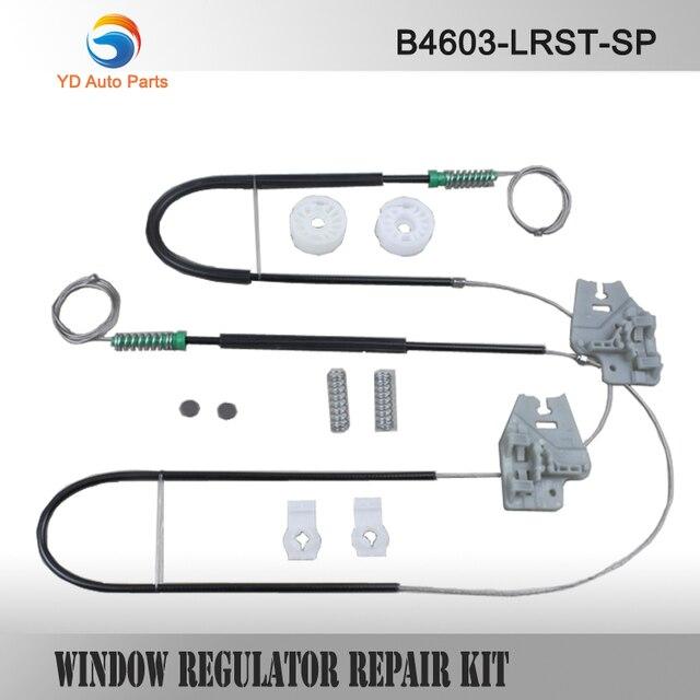 YD CAR PARTS WINDOW REGULATOR REPAIR KIT CLIP SET FOR BMW E46 WINDOW REGULATOR REPAIR KIT FRONT-RIGHT 98-01