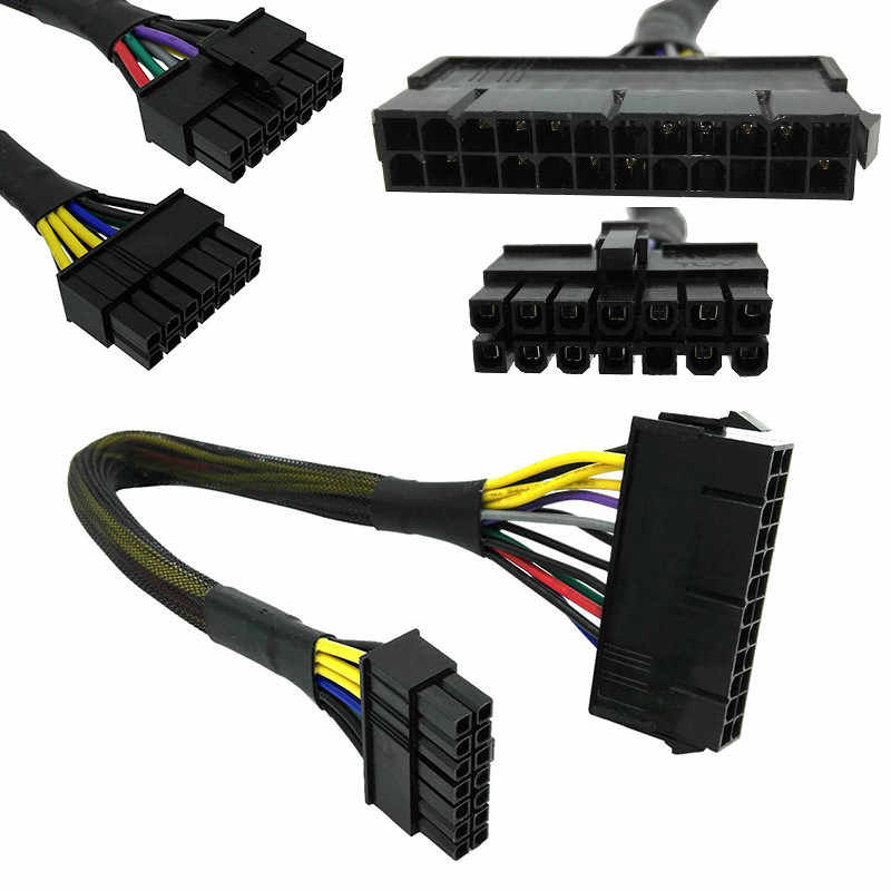 Centechia 24 Pin do 14 pin zasilacz ATX kabel zawód złącze płyty głównej kabel wysokiej jakości