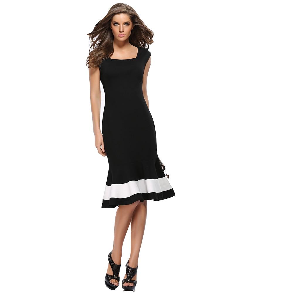 Femme sans manches trompette robes nouveauté sirène longue dress avec col  carré pour femmes printemps inhabituel femmes robes ro.
