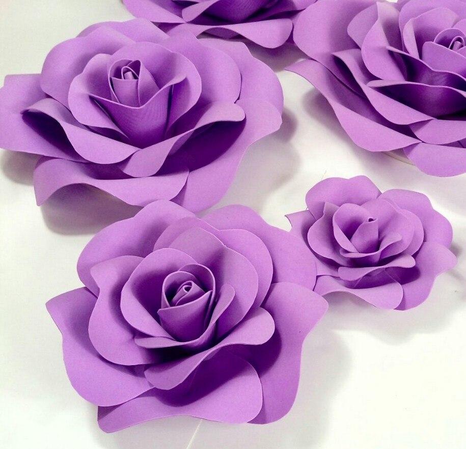 Purple Wedding Custom Foam Flower Wall Diy Paper Flower Backdrop