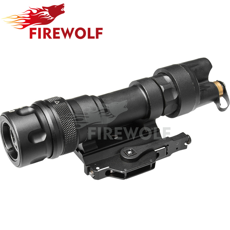 M952 Scout Light IR Picatinny QD Mount LED Weapon Light Waterproof Hunting Flashlight Constant Momentary White Output tgpul tactical m300b weapon light rifle mini scout light led flashlight constant momentary output for hunting