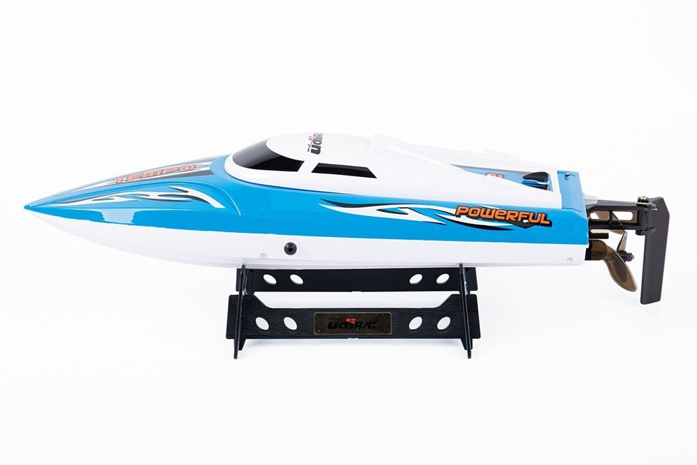 UDI UDI012 2.4GHz 2.4G Remote Controlled High Speed Electric RC Racing Boat for Pools, Lakes and Outdoor AdventureUDI UDI012 2.4GHz 2.4G Remote Controlled High Speed Electric RC Racing Boat for Pools, Lakes and Outdoor Adventure