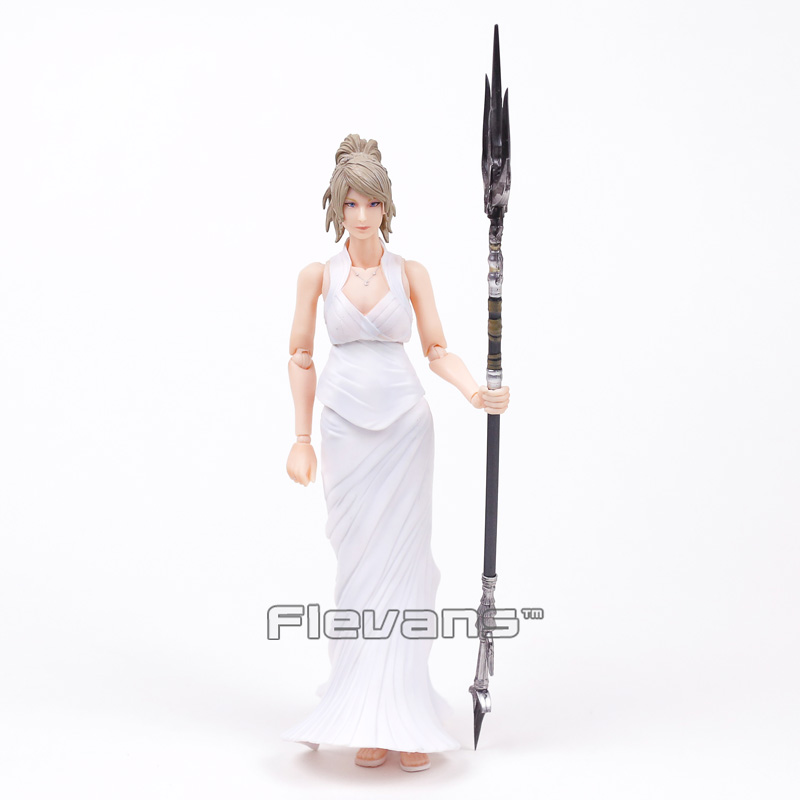 Original Play Arts KAI Final Fantasy XV 15 Lunafreya Nox Fleuret PVC Action Figure Collectible Model Toy 25cm
