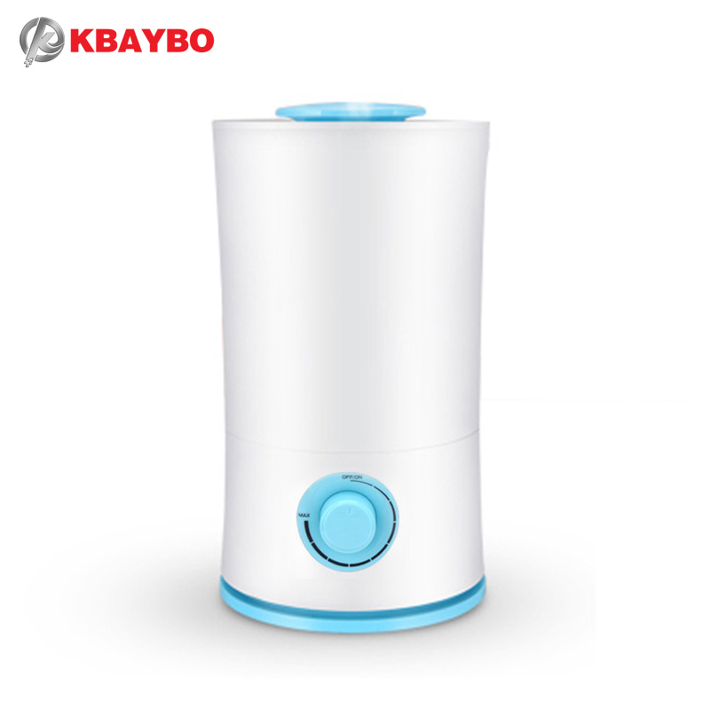 KBAYBO 2.5L Ultrasonic Aroma Essential Oil Diffuser Remote Control Cool Mist air purifier Humidifier LED Light for Office Home