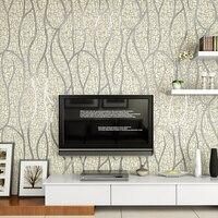 Роскошные качества современный стекаются АБСТРАКТНЫЕ ПОЛОСЫ 3D стены Бумага ролл для стен замши ремесел настенные Бумага Задний план 3D Papel