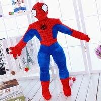 1 개 30 센치메터 45 센치메터 마블 영웅 리그 미군 동맹 스파이더 봉제 인형 아이 장난감 인형 생일 선물, 무료 배송!