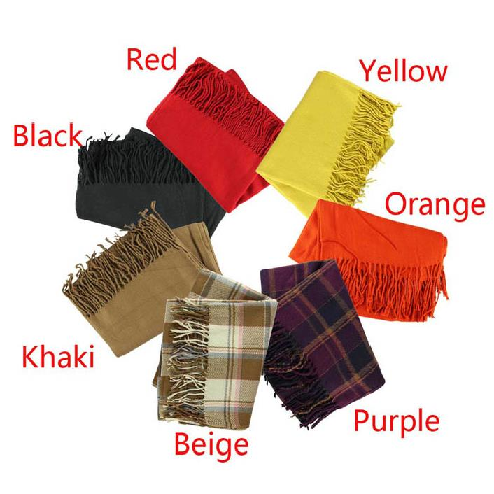 Fantastic Fashion Women Winter Infinity Blanket Oversized Shawl Plaid Check font b Tartan b font Scarf