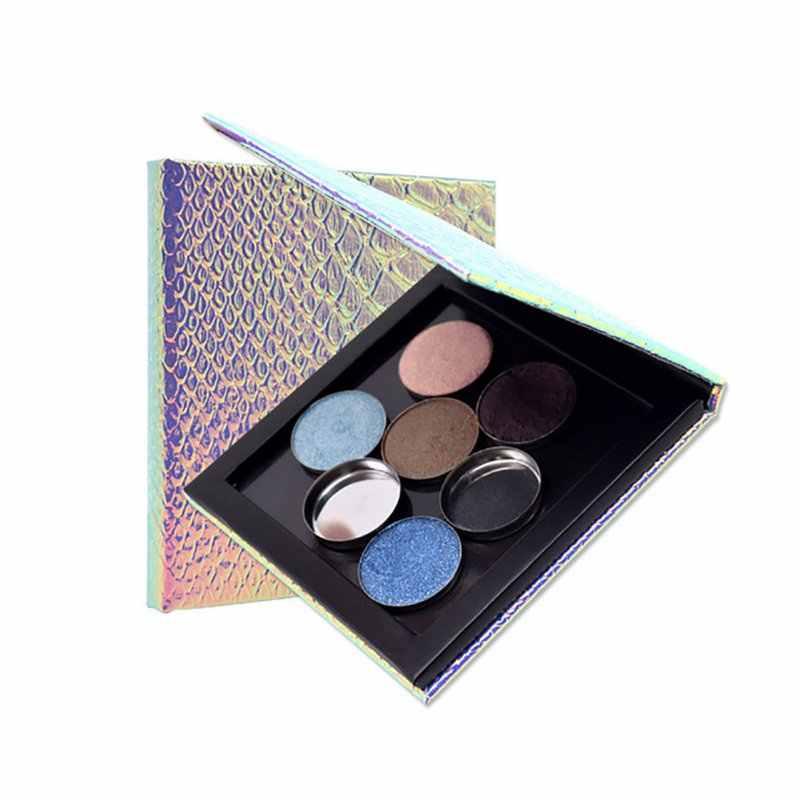 空の磁気アイシャドウパレットリフィルアイシャドウパレットポータブル赤面持ち運び美容顔料メイクアップ化粧品収納