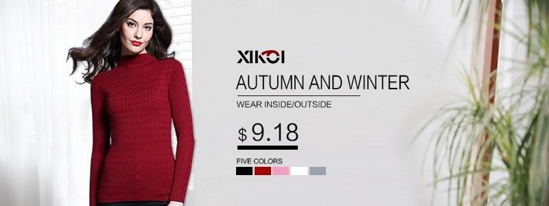 XIKOI 2018 Sweater Musim Dingin Wanita Baru Pakaian Fashion Kasual O-Neck  Pullover Tebal Lengan Panjang Komputer Rajutan Wanita Sweater 702feac6ad
