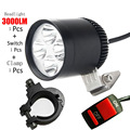 30W 4*U2 motorcycle headlight Cree led chip driving head lights spot lamp CE motorbike spotlights DRL Car fog light accessories