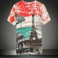 2014 Summer Wear New Fashion Men Plus Size M To 3XL 5XL 4XL T Shirts Men