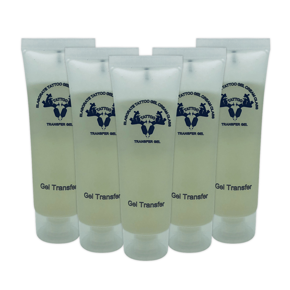 1Pc Tattoo Transfer Gel Body Art Paint Stencil For Machine Auxiliary Products Transfer Cream 50ml Supply Tattoo Gel TSLM2