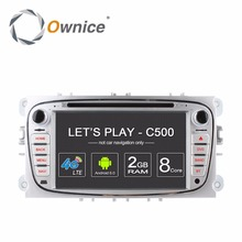 Ownice C500 4G LTE Android 6.0 Octa 8 Core Car DVD Player GPS For FORD Mondeo S-MAX Connect FOCUS 2 2008 2009 2010 2011 32G ROM