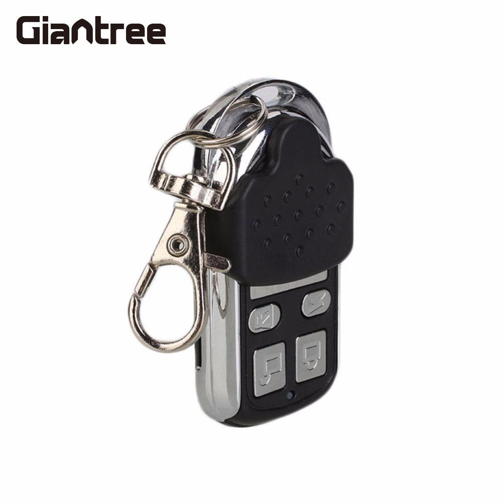 Giantree Garage Door Remote Control Cloning Remote Control Gate Key Fob Cloner Learning Fixed Code Access Control Keypad universal cloning cloner 433mhz electric gate garage door remote control key fob