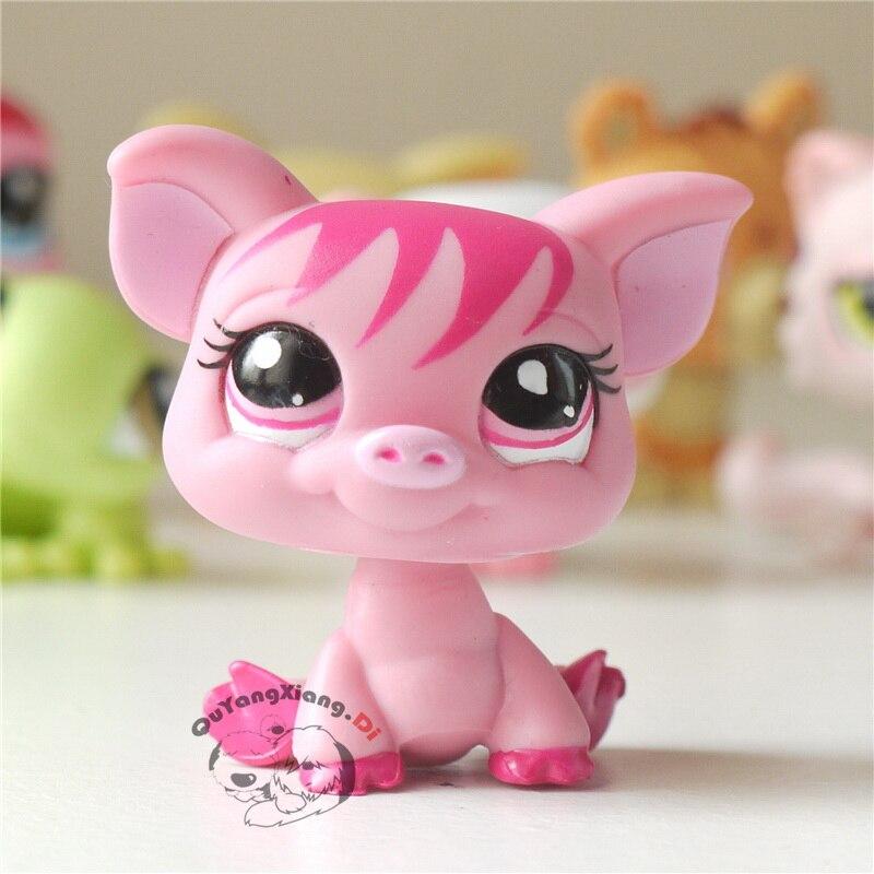 CW017 Pet Shop Animal Pink Pig Doll Action Figure