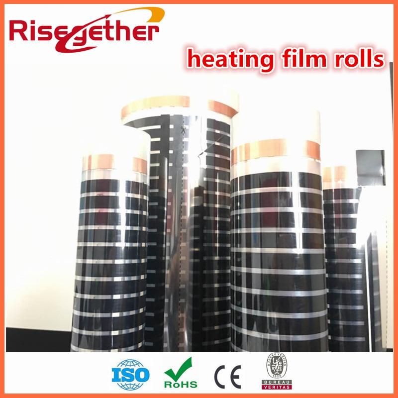 New arrivals Comfortable 24V Carbon fiber Carbon cystal Far Infrared Ray Underfloor Heating Film