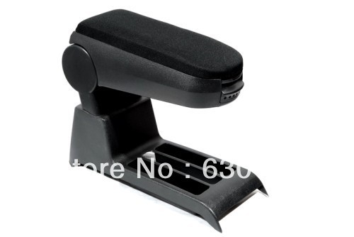 Center Console Armrest (Cloth Black) For VW Volkswagen Polo 9N3