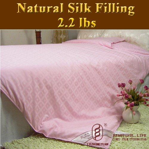 Guaranteed 100% Genuine New Super 100% Tussah Silk Comforter Filling 1kg,silk quilt, bedding