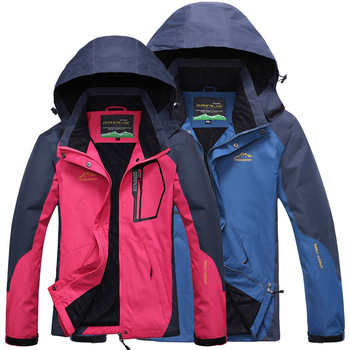 Men&women's Softshell Waterproof Jackets Outdoor ,Sport Brand Clothing Camping Trekking Hiking Male&female Jacket Outdoor Men