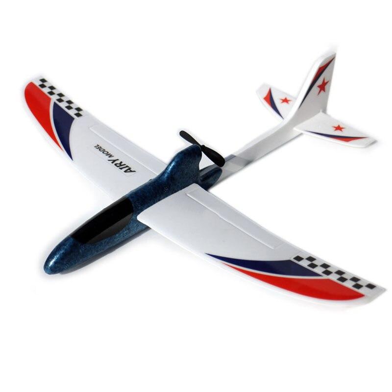 RC aviones condensador eléctrico de mano que lanza el planeador DIY avión modelo lanzamiento de la mano que lanza el planeador juguete educativo para niños