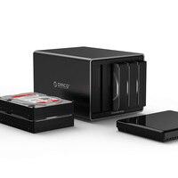 ORICO NS500C3 TYPE C multi disk cartridge sata desktop 3.5 inch external storage cabinet Large capacity 50T