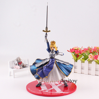 Fate/Stay Night Figure SABER Action Figure Arturia Pendragon Toy Gift 20cm KT4716