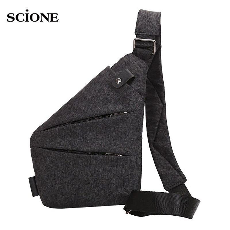Men Sports Bags Chest Gym Bag Compact Single Shoulder Pack Mens Retro Crossbody Sling Fitness Anti Theft Sac De Sport XA503WA