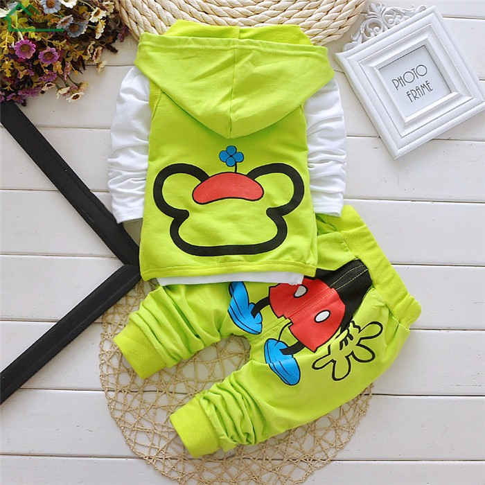mickey mouse kids boys clothes set09