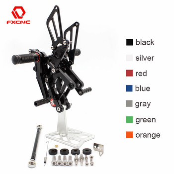 FOR Honda CBR150 2011-2015 CBR125 2011-2015 2014 2013 Aluminum Adjustable Motorcycle Rearsets Rear Sets Foot Pegs Pedal Footrest